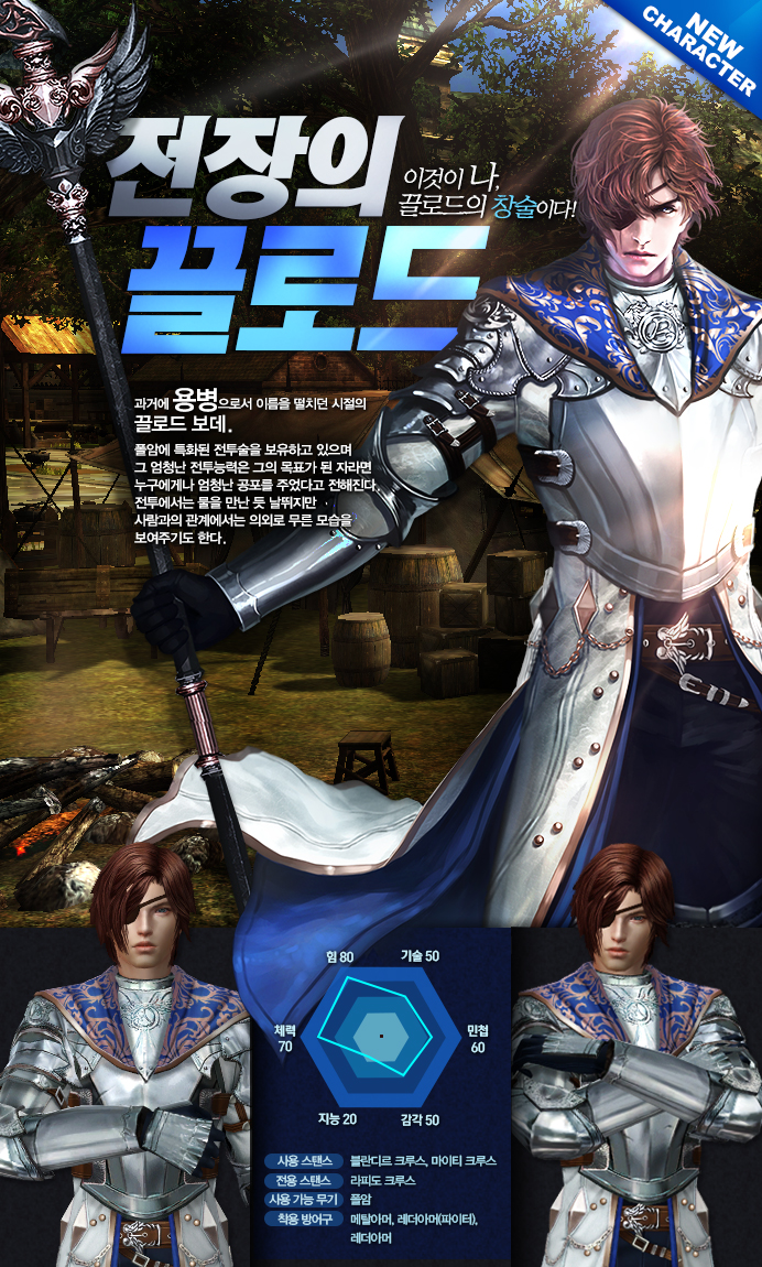 전장의 끌로드 캐릭터 소개