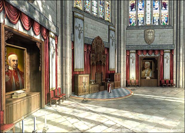 성당 초상화