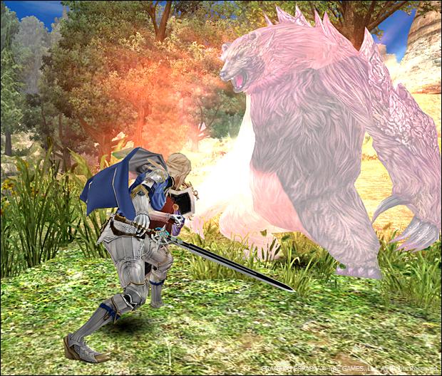 곰과 싸우는 시리우스